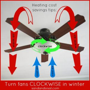 Winter Ceiling Fan